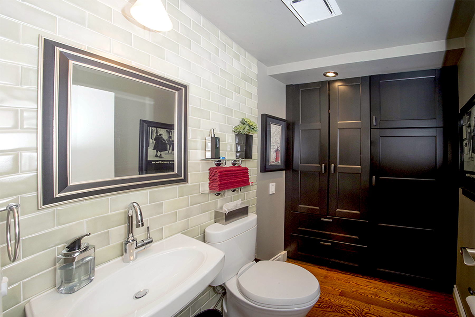 Point McKay Calgary Luxury Condo Bathroom Reno