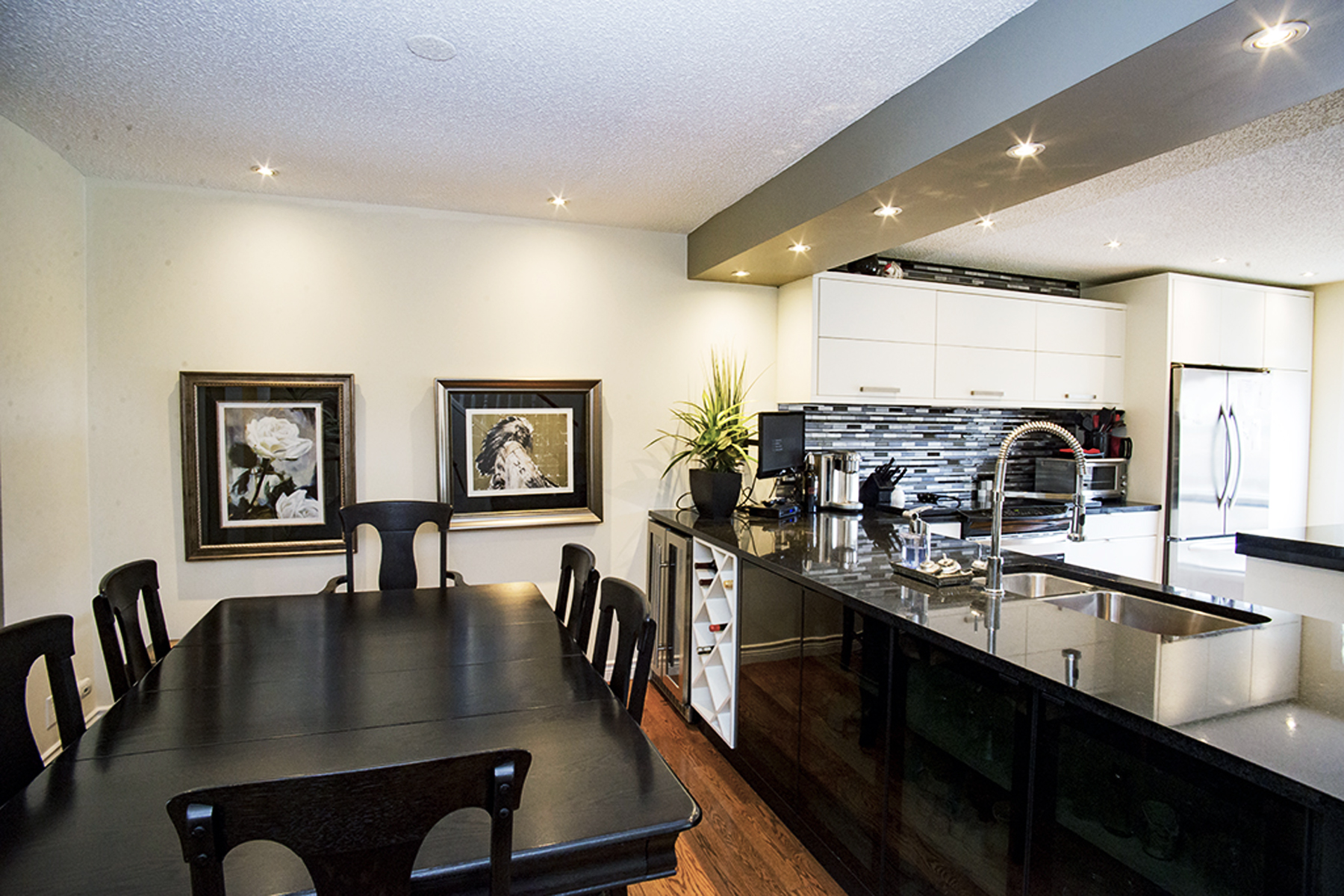 Point McKay Calgary Luxury Condo Kitchen Diner Renovation