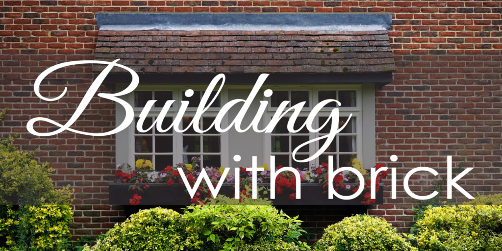 home renovations building with brick