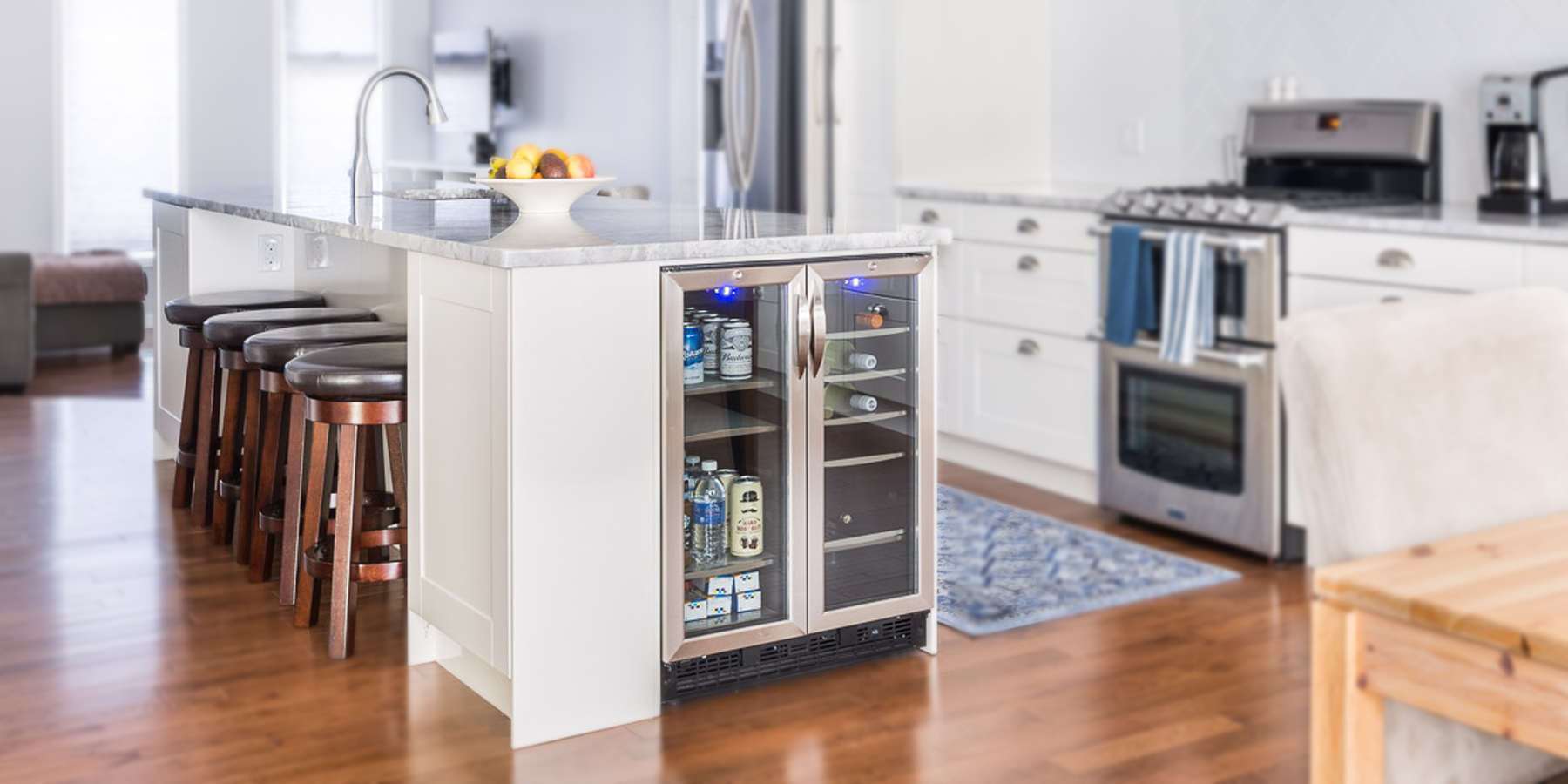 Open Concept Kitchen Living Room | Classic Renovation Updates |