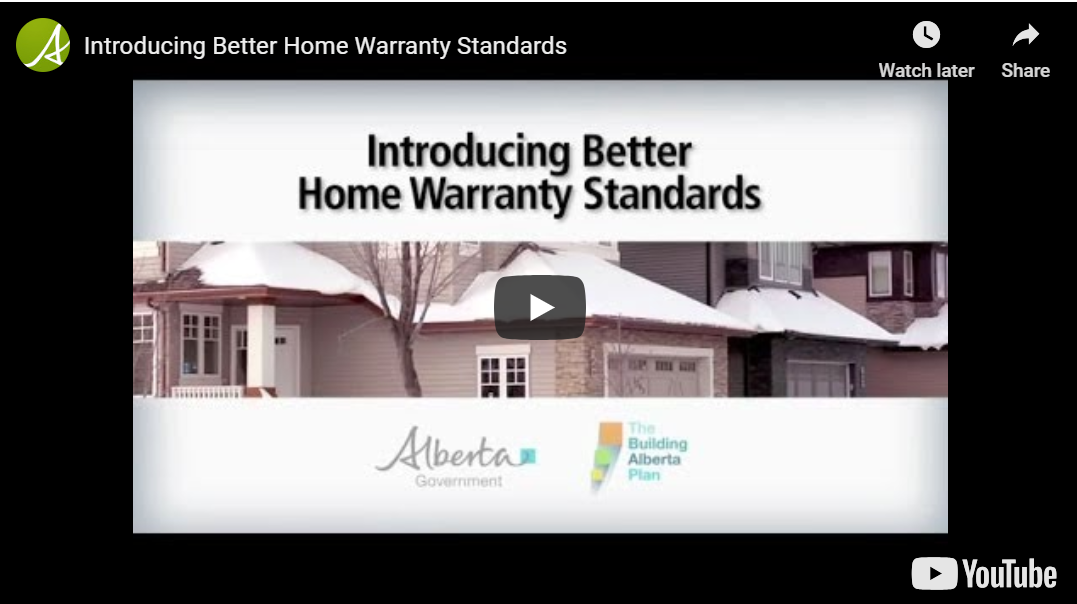 home warranty standards